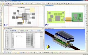 図1:回路構想とラフな製品形状を使ったフィジビリティ・スタディ