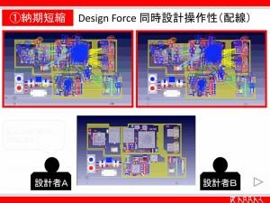 Design Force 同時設計操作性(配線)