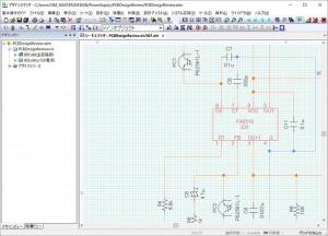 電源基板内の電圧異常検出回路