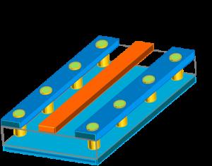 配線シールド構造例