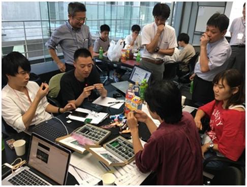 第1回ナノコン応用ハッカソンの様子@東京大学 生産技術研究所