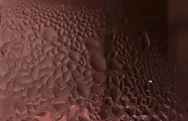 めっきの結晶粒径の変化イメージ