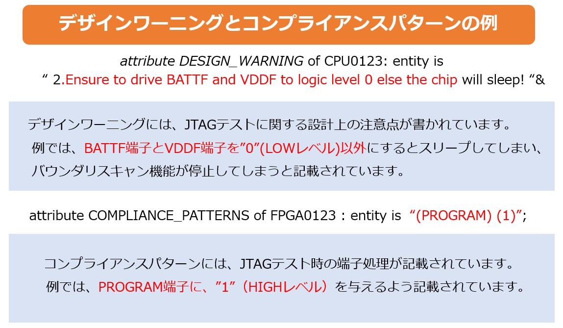 BSDLファイルの例