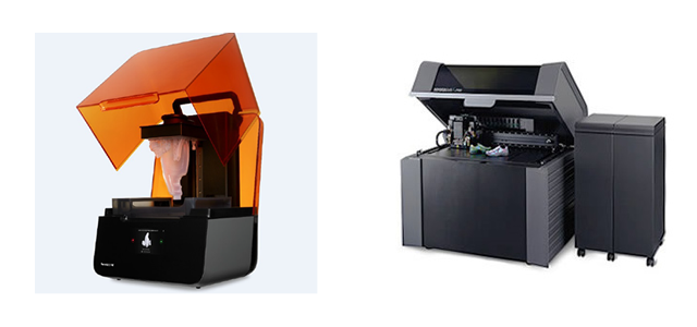 コンシューマクラス機種(左)と産業用クラス機種(右)の例
