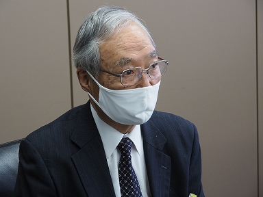 鉄道総研 元理事長、秋田 雄志様